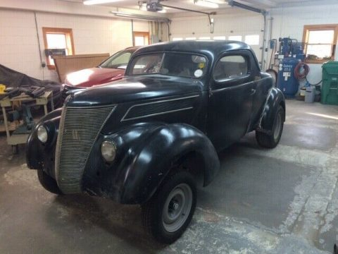 hot rod 1937 Ford Standard project for sale