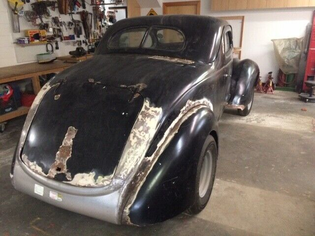 hot rod 1937 Ford Standard project