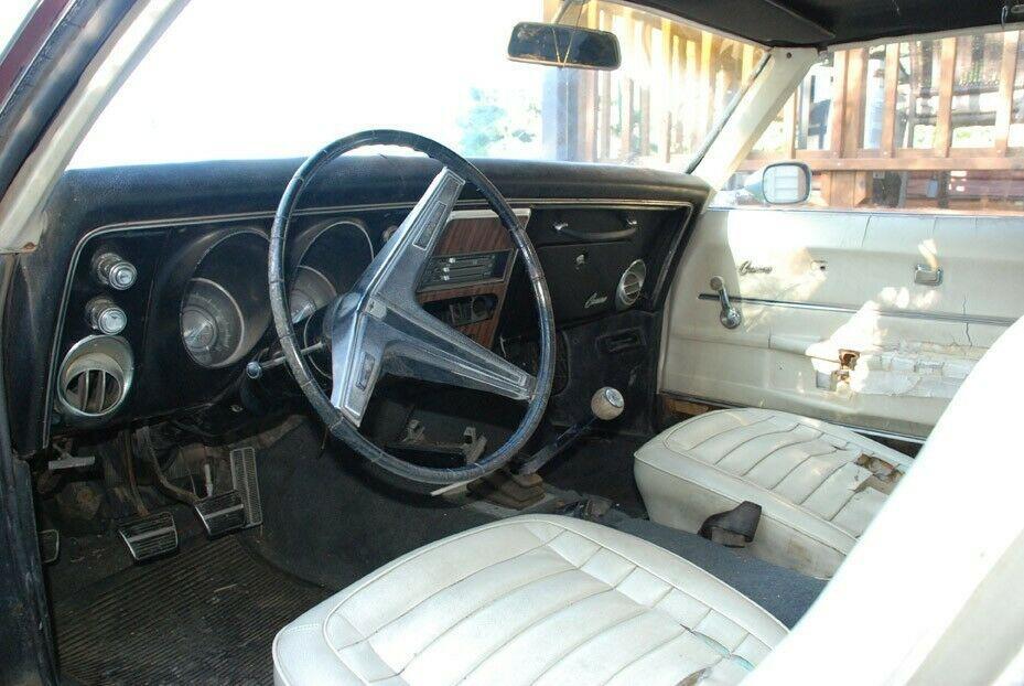 needs TLC 1968 Chevrolet Camaro Sport project