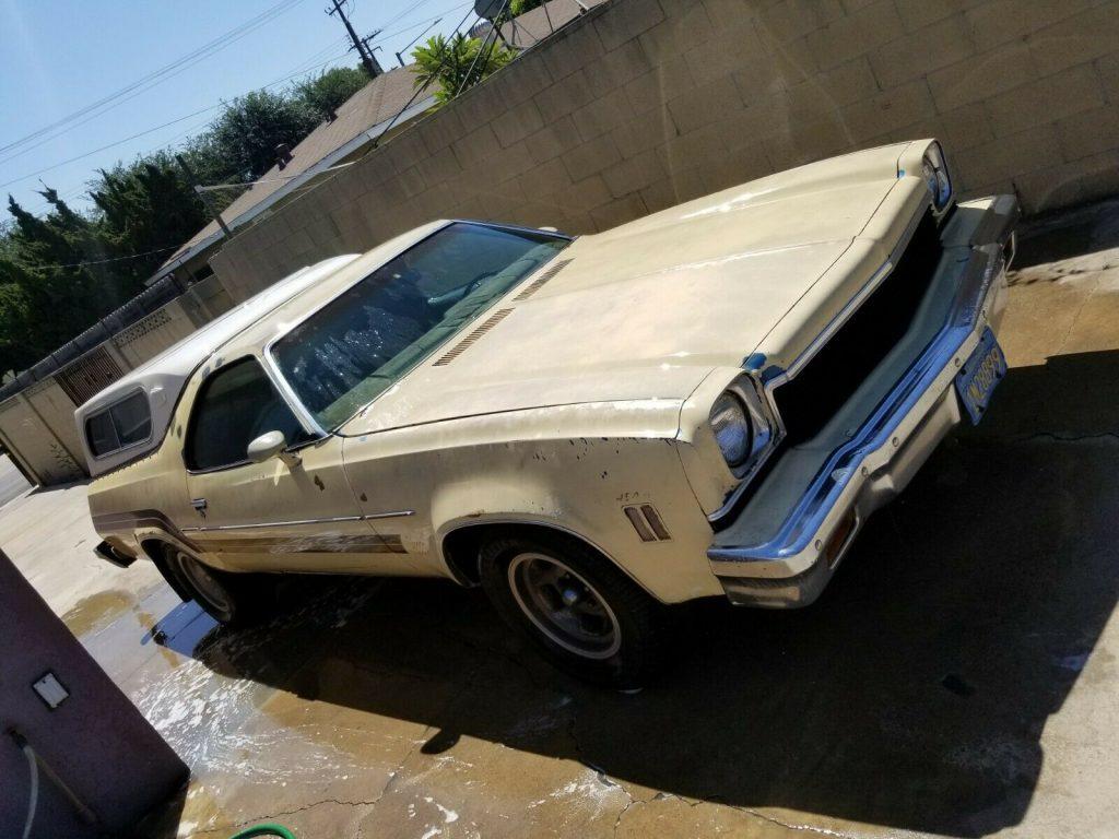 needs work 1973 Chevrolet El Camino SS project