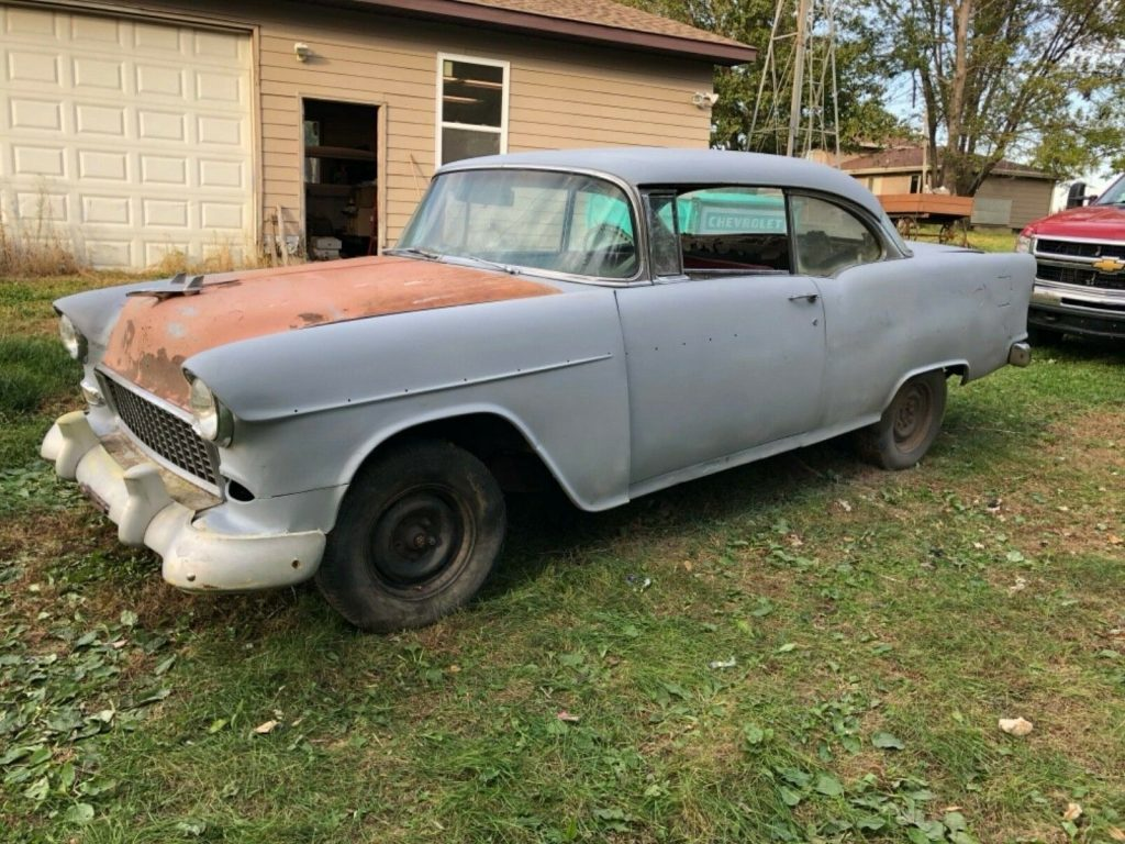 new parts 1955 Chevrolet Bel Air Sport coupe project