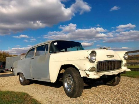running 1955 Chevrolet 210 Project for sale