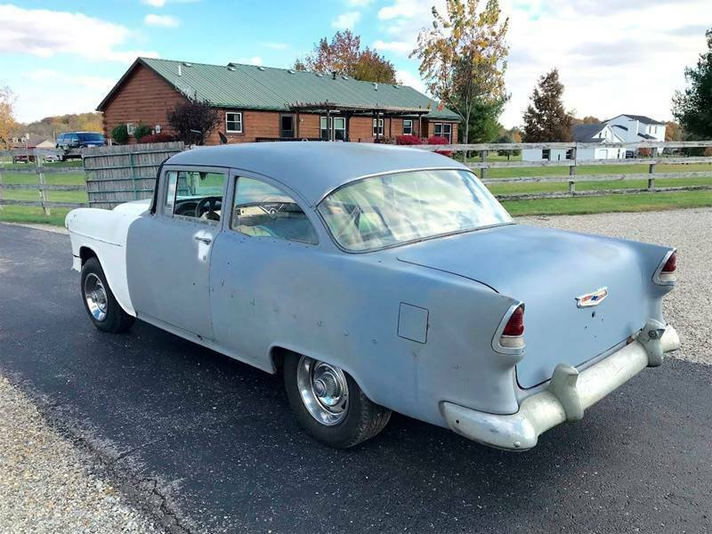 running 1955 Chevrolet 210 Project
