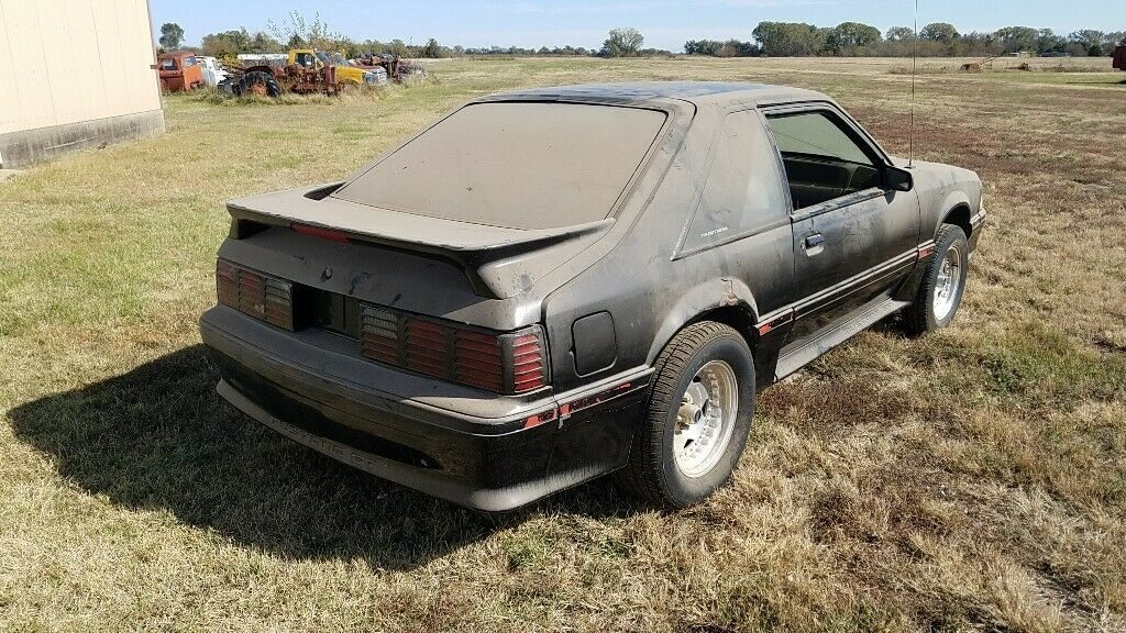 rust free 1987 Ford Mustang project