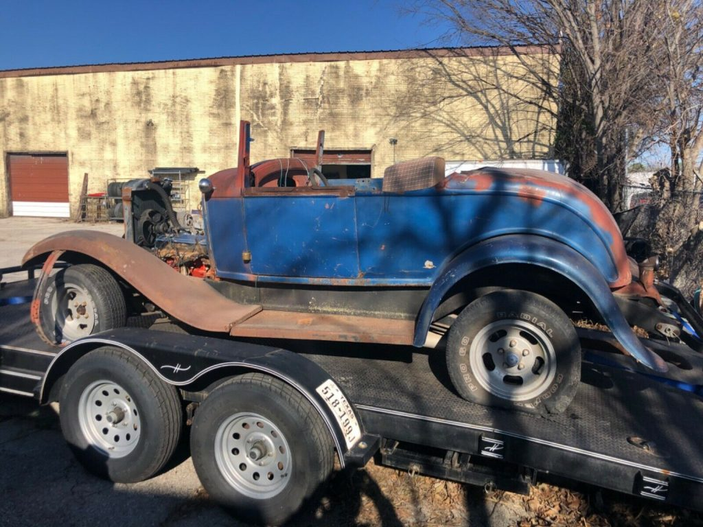 solid 1932 Ford Roadster project