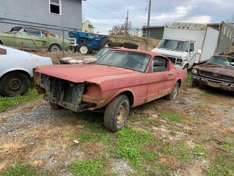 solid base 1966 Ford Mustang project for sale