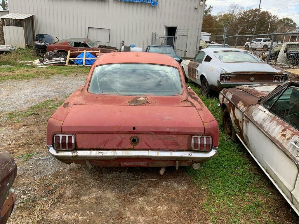 solid base 1966 Ford Mustang project