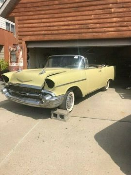 solid frame 1957 Chevrolet Bel Air/150/210 project for sale
