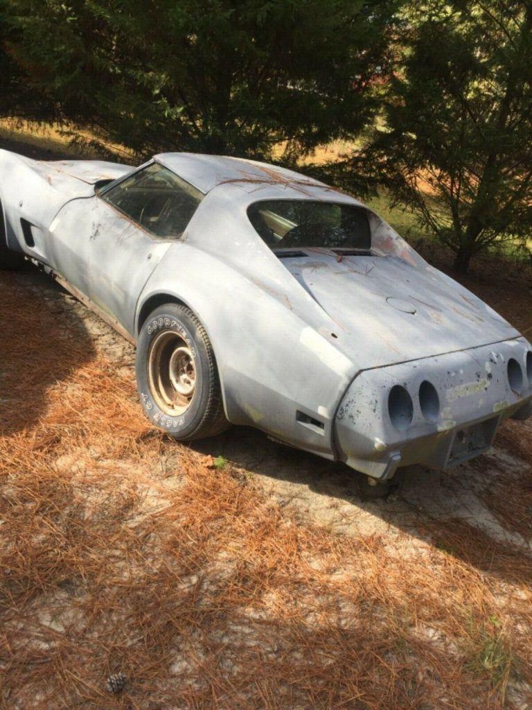 all original 1974 Chevrolet Corvette project