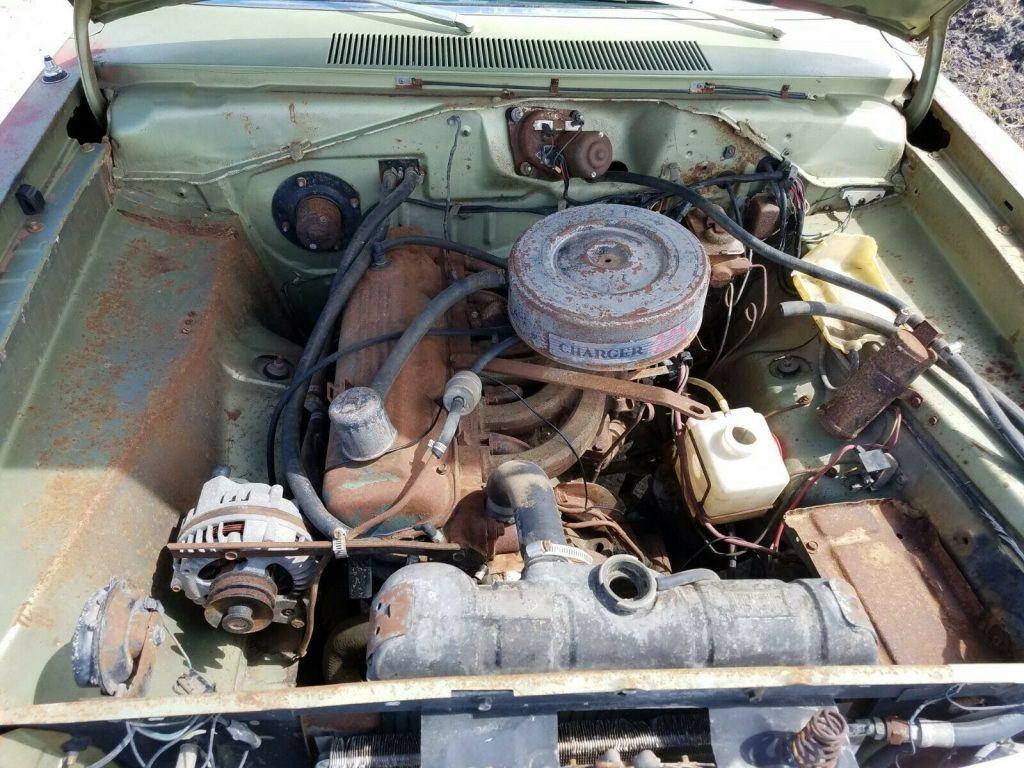 great patina 1969 Dodge Dart Swinger project