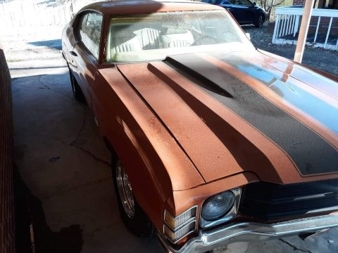 lot of work already done 1971 Chevrolet Chevelle project for sale