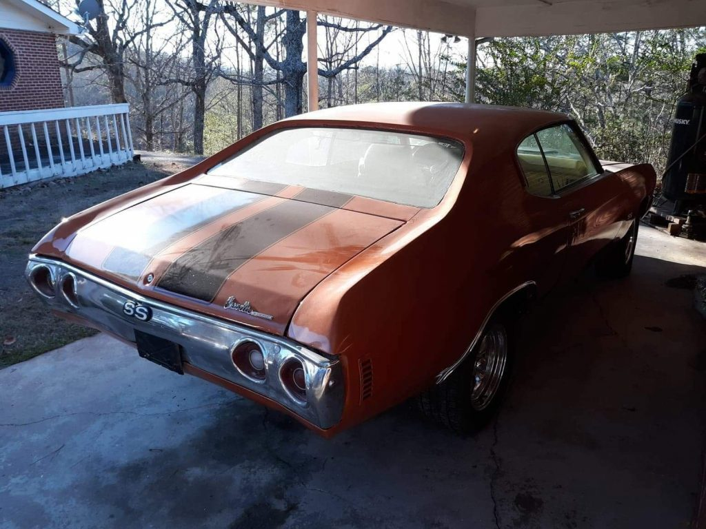 lot of work already done 1971 Chevrolet Chevelle project