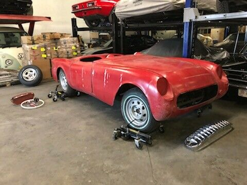 lots of parts 1954 Chevrolet Corvette project