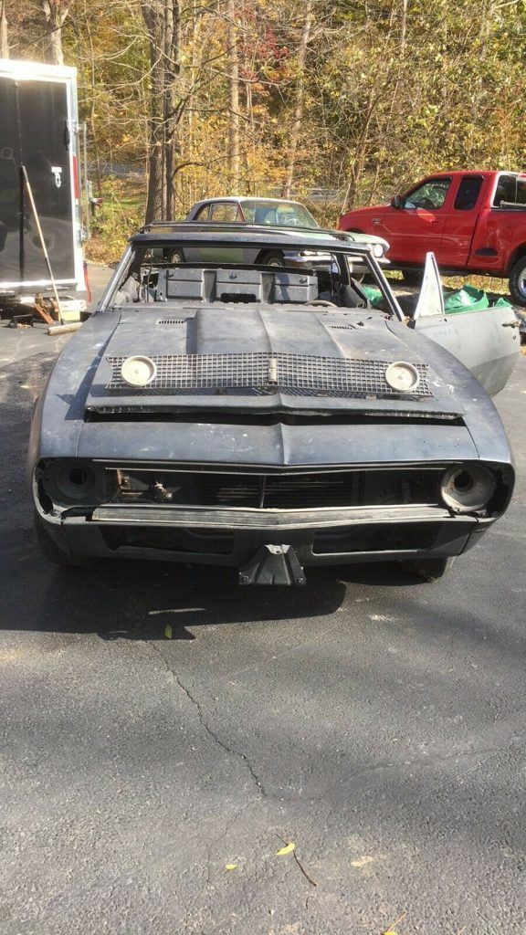 new parts 1967 Chevrolet Camaro Standard project