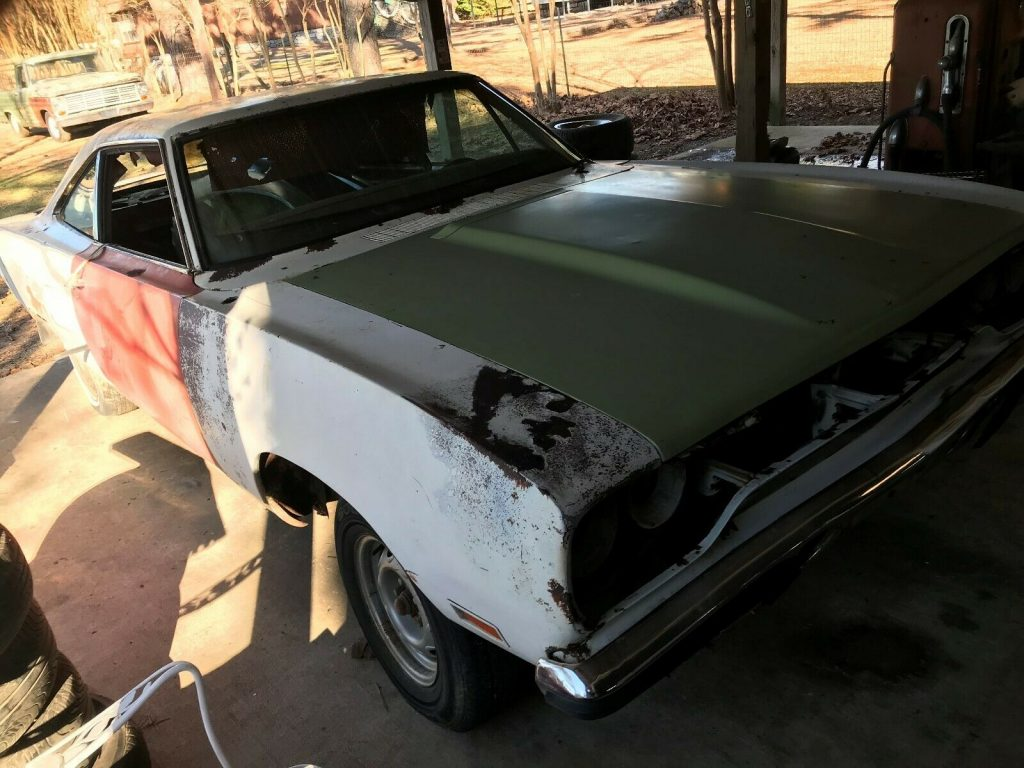 original 1970 Plymouth Road Runner project