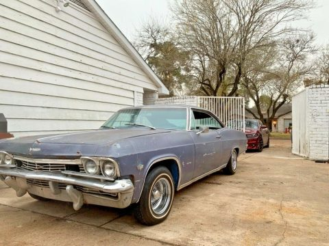 rare 1965 Chevrolet Impala project for sale