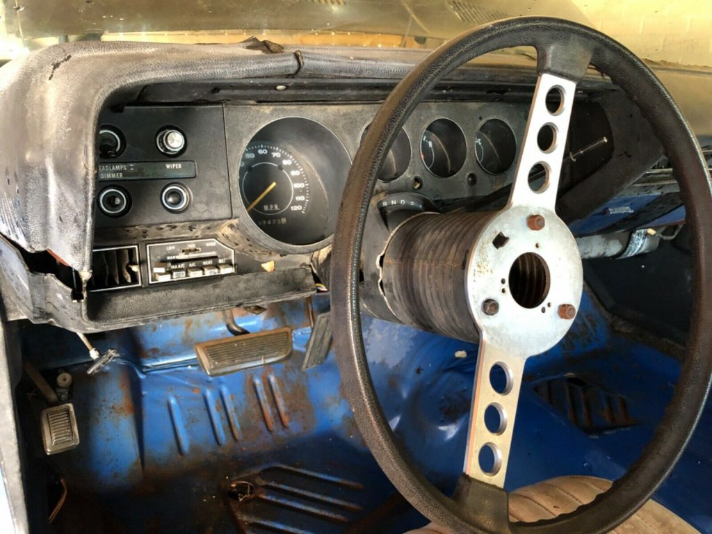 very solid 1972 Plymouth Barracuda project