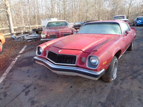 very solid 1976 Chevrolet Camaro TYPE LT project for sale