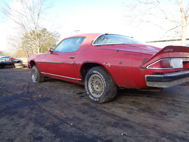 very solid 1976 Chevrolet Camaro TYPE LT project