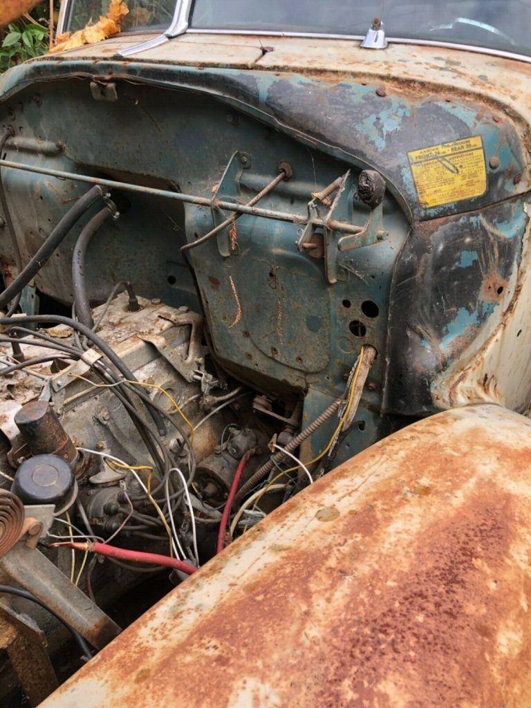 vintage 1947 Hudson Pickup project