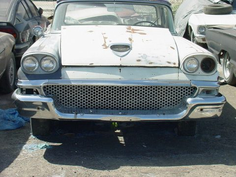 vintage 1958 Ford Ranchero 500 project for sale