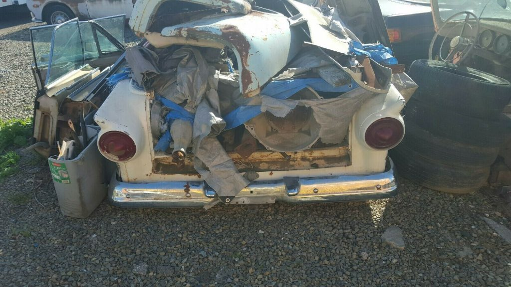vintage 1958 Ford Ranchero 500 project