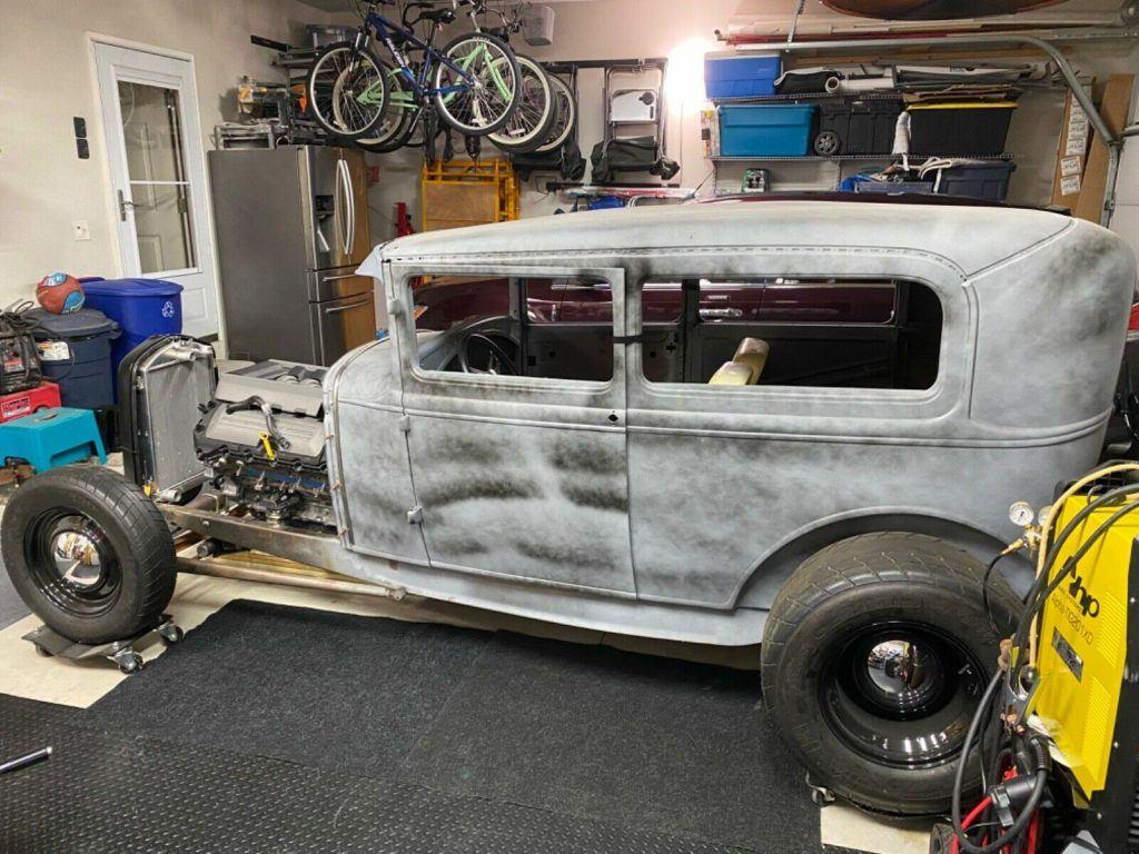 hot rod 1930 Ford Model A Tudor project