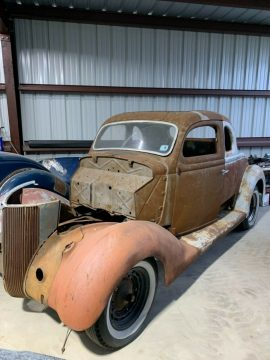 hot rod 1936 Ford Coupe Project for sale