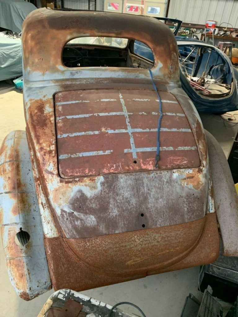 hot rod 1936 Ford Coupe Project