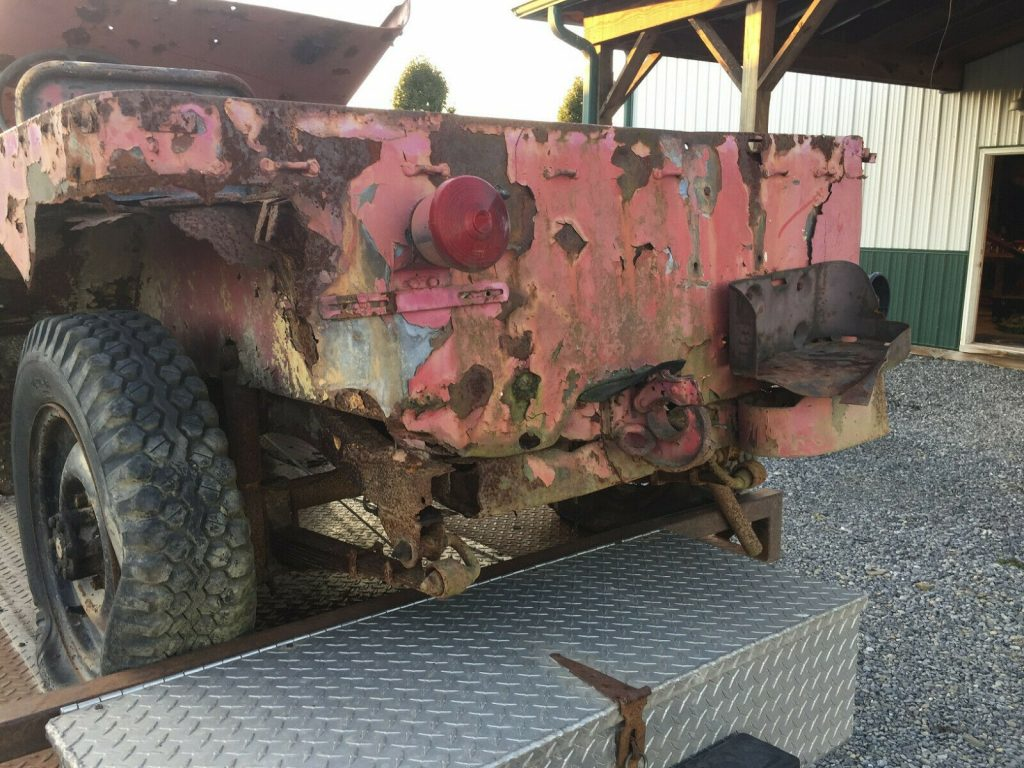 military 1942 Ford GPW Willys MB WWII Jeep project