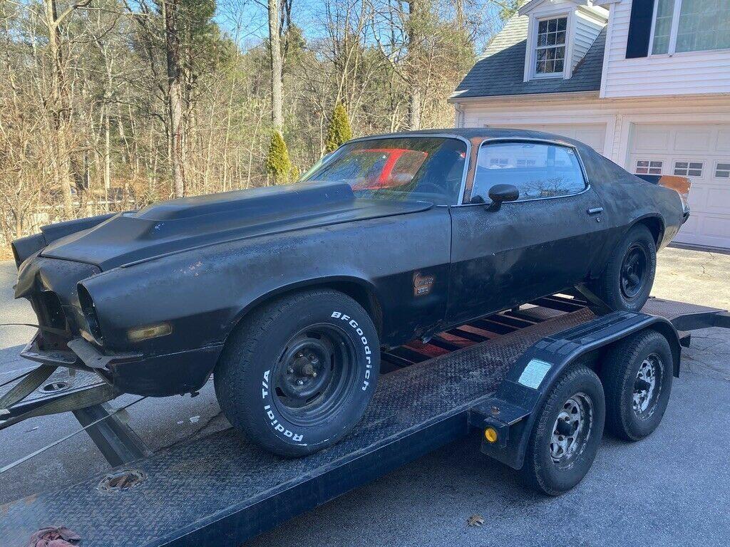 needs complete restoration 1973 Chevrolet Camaro project