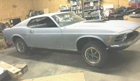 new parts 1970 Ford Mustang fastback project for sale