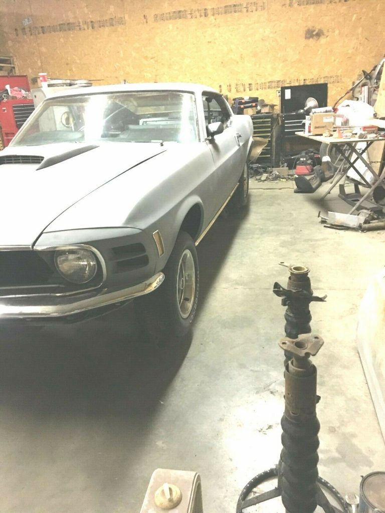 new parts 1970 Ford Mustang fastback project
