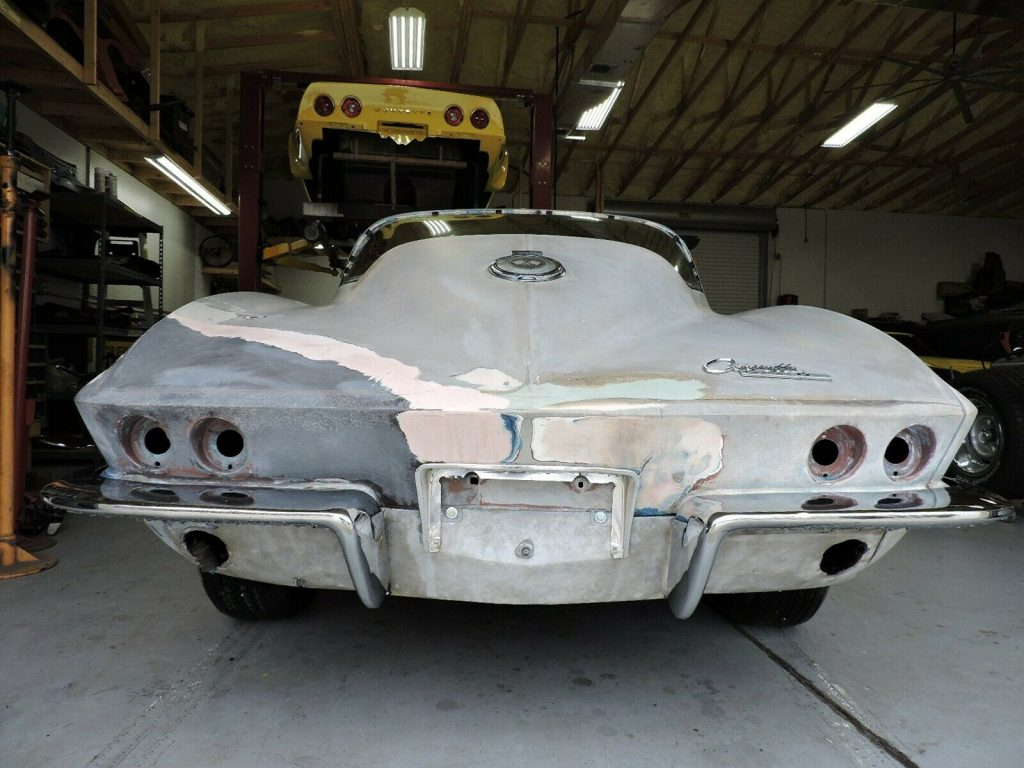 Original Body 1964 Chevrolet Corvette project