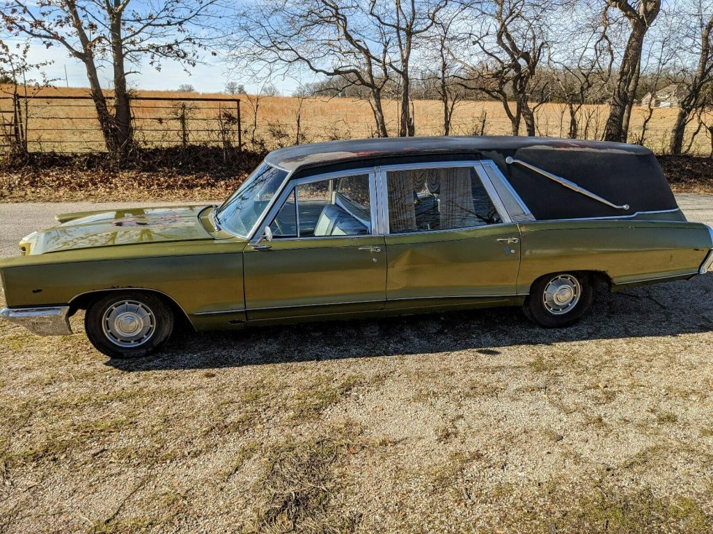 rare 1966 Pontiac Bonneville hearse project