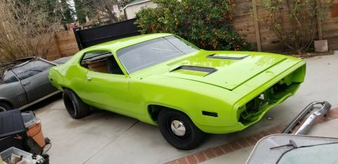 very nice 1971 Plymouth Road Runner 383 4 speed project for sale