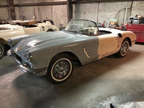 very solid 1959 Chevrolet Corvette project for sale