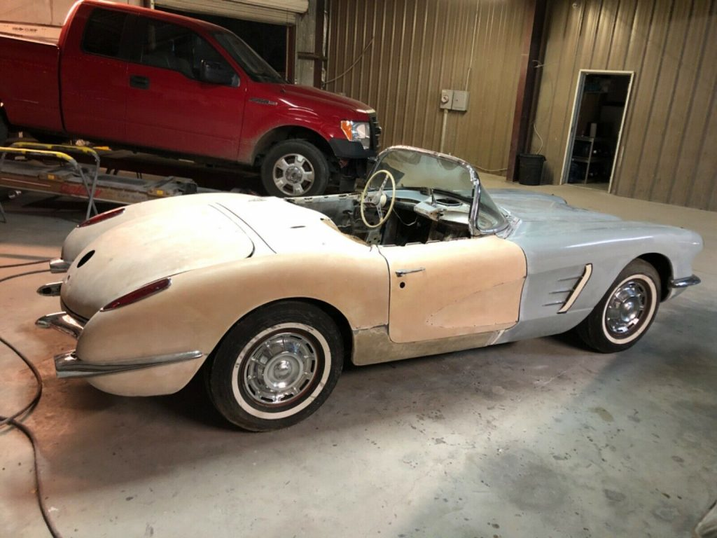 very solid 1959 Chevrolet Corvette project
