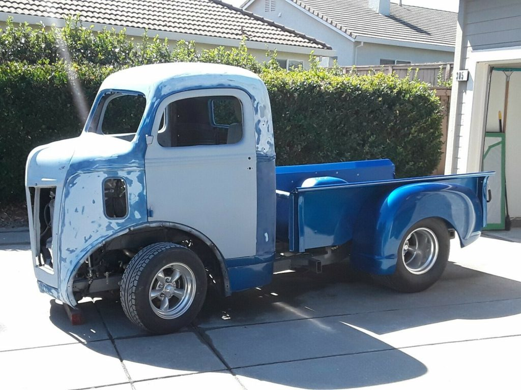 amazing 1946 Ford Cabover Pickup custom project