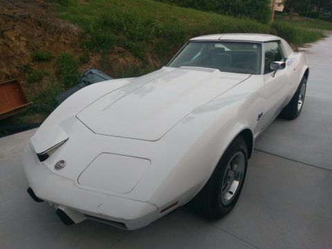 barn find 1976 Chevrolet Corvette Project for sale