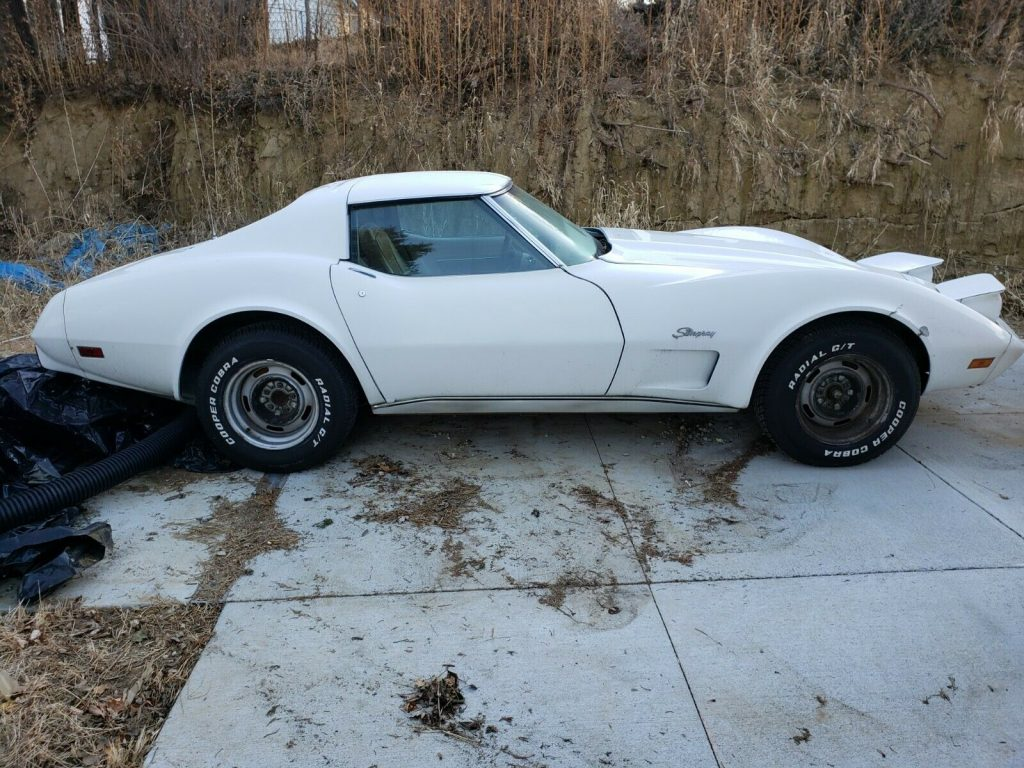 barn find 1976 Chevrolet Corvette Project
