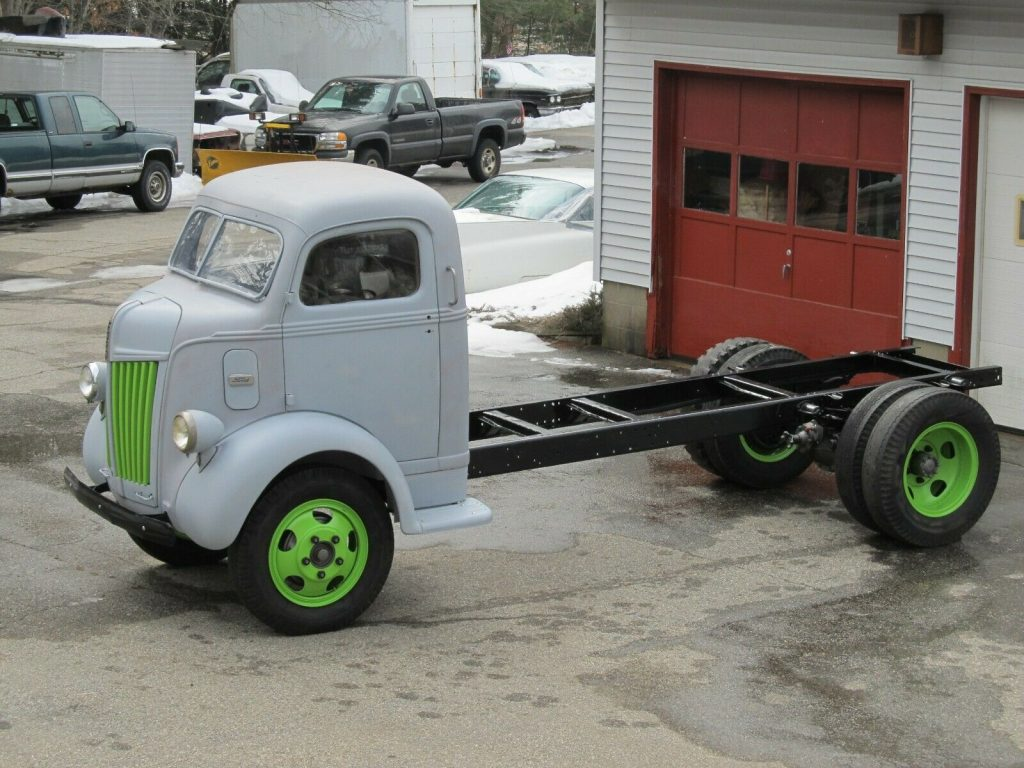 Beautiful 1946 FORD COE Project