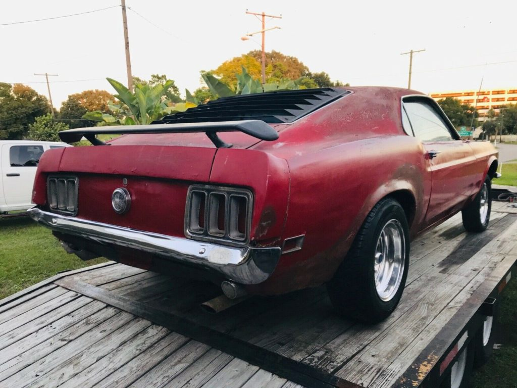 complete 1970 Ford Mustang Fastback project