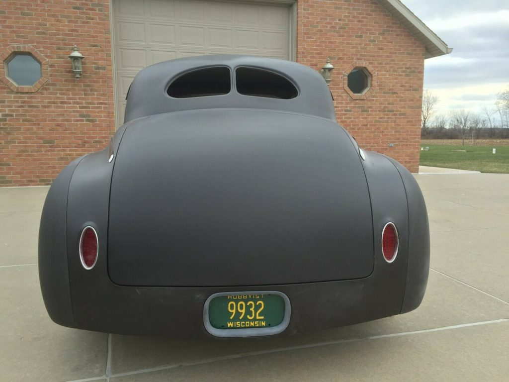 custom hot rod 1941 Dodge Coupe project