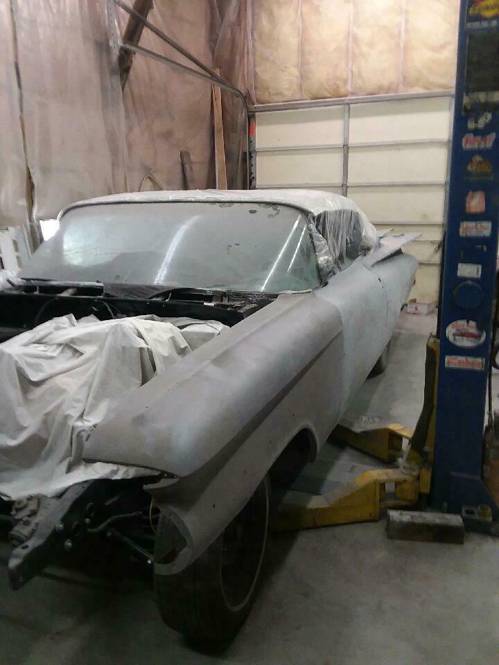 lots of work done 1959 Chevrolet Impala Convertible project
