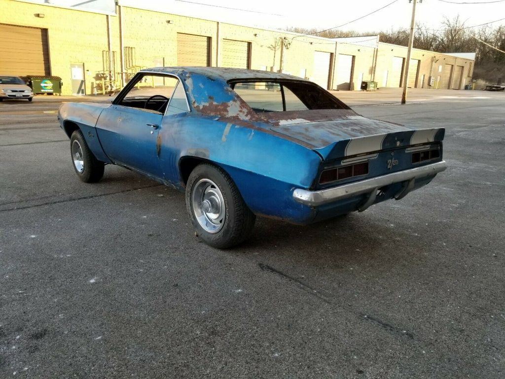 missing drivetrain 1969 Chevrolet Camaro project