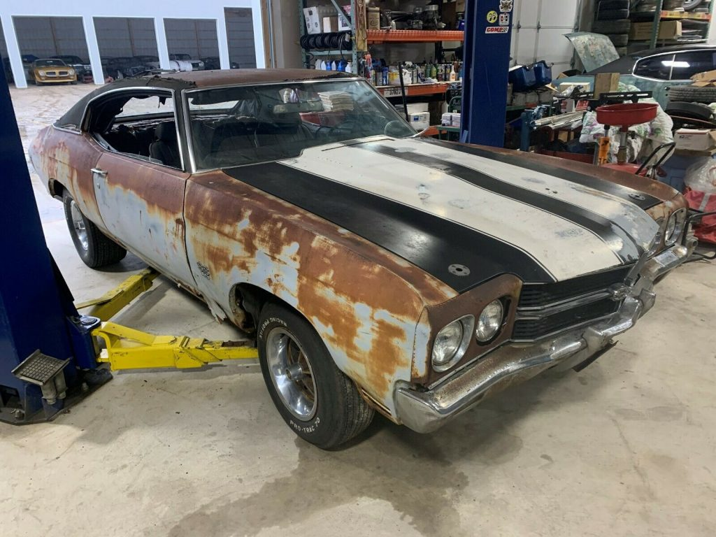 needs a lot of work 1970 Chevrolet Chevelle SS 396 project