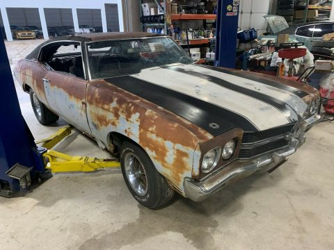 needs a lot of work 1970 Chevrolet Chevelle SS 396 project for sale
