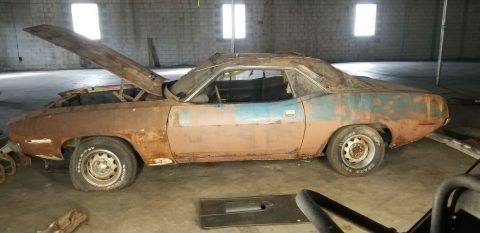 no drivetrain 1970 Plymouth Barracuda AAR project for sale