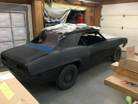 restoration in progress 1969 Chevrolet Camaro Project for sale